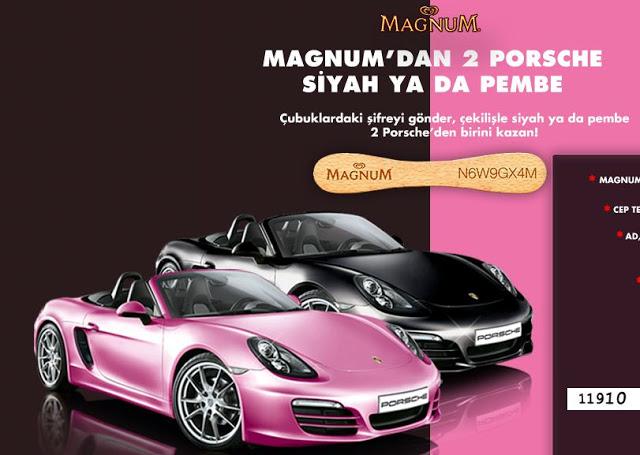 Magnum Porsche çekilişi Kampanyası Nasıl Kazanılacak