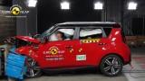 Kia Soul EuroNCAP çarpışma-güvenlik testi videosu