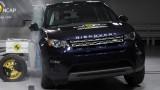 Yeni Land Rover Discovery Sport EuroNCAP çarpışma – güvenlik testi videosu