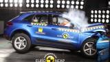 Porsche Macan EuroNCAP çarpışma güvenlik testi videosu