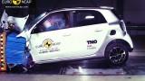 Yeni Smart ForFour EuroNCAP çarpışma – güvenlik testi videosu