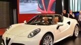 İstanbul Autoshow 2015: Alfa Romeo 4C Spider