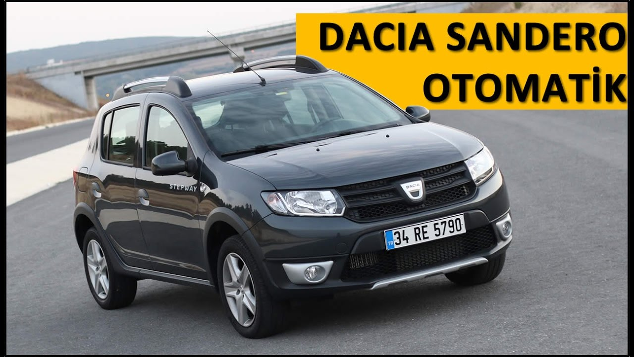 dacia sandero easy r otomatik vites test inceleme videosu. Black Bedroom Furniture Sets. Home Design Ideas
