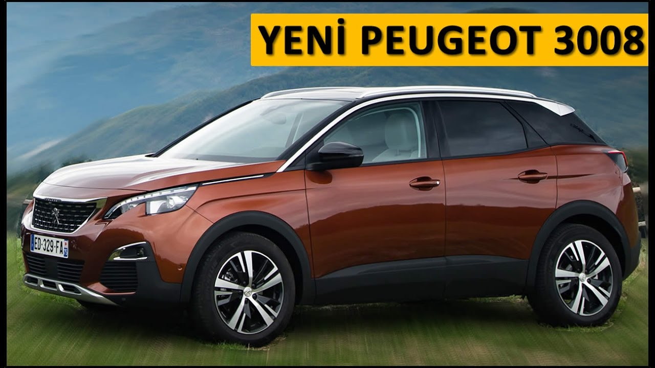 yeni peugeot 3008 2016 test s r videosu. Black Bedroom Furniture Sets. Home Design Ideas
