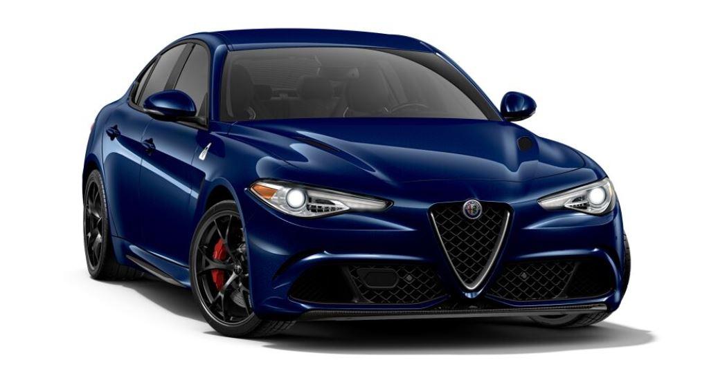 Alfa Romeo Giulia configurator -